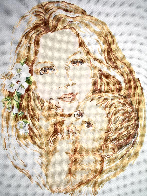 Вышивки на день матери