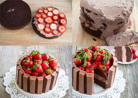 Торт Зебра  Простой рецепт хорошего настроения