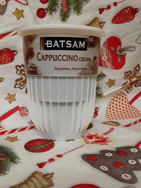 Batsam cappuccino cream в стаканчике