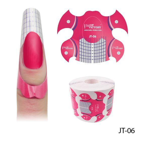 Форма для наращивания ногтей распечатать