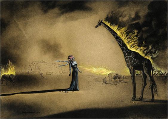 Найдена первая сюрреалистическая картина Сальвадора Дали