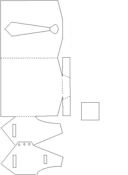 оформление подарочной коробки мужчине на 23 февраля шаблон