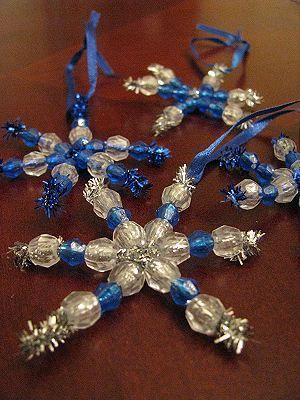 поделки из синельной проволоки своими руками на Новый год