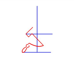 Как нарисовать серп и молот поэтапно