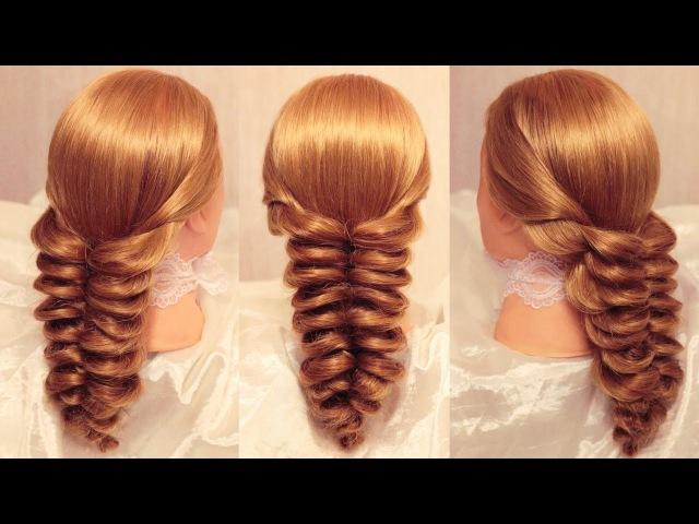 Плетение из резинок косы видео
