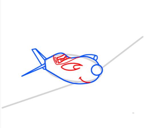 Как нарисовать самолет рипслингер из
