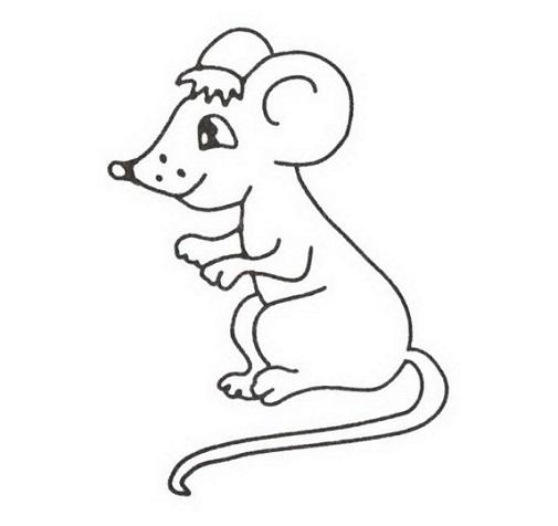 контур мыши для аппликации