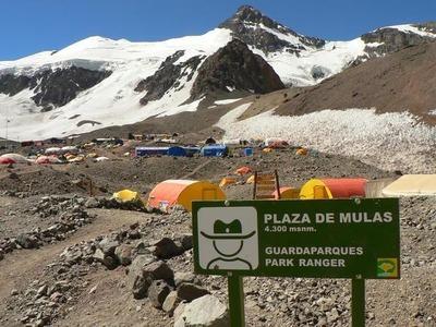 Какая самая высокая гора в Аргентине? Какова её высота?