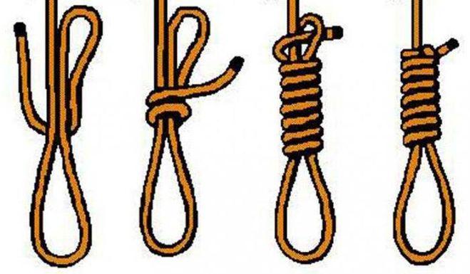 Как сделать узлы на веревке 490