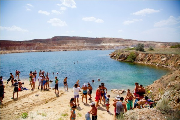 Знаменитое озеро Баскунчак