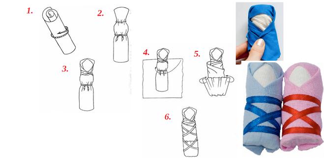 Как сделать куклу простым способом 37