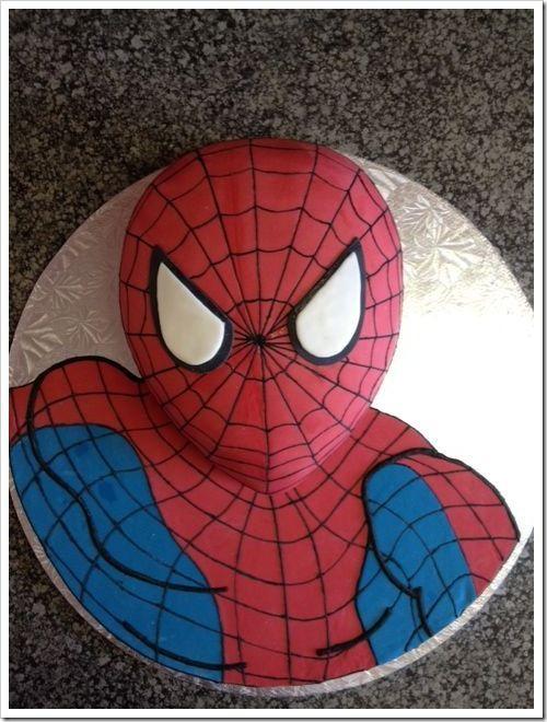 Как сделать паука для торта