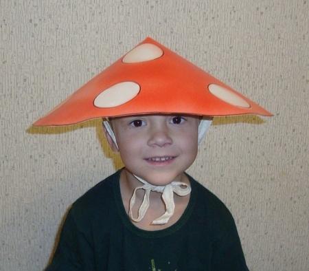 Сделать шляпку на праздник осени 12