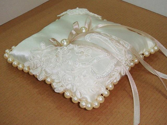 Подушечка для колец своими руками на свадьбу