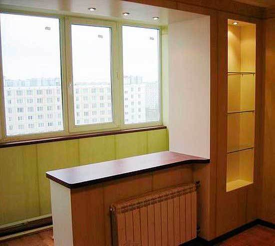 Объединять или нет балкон с комнатой?.