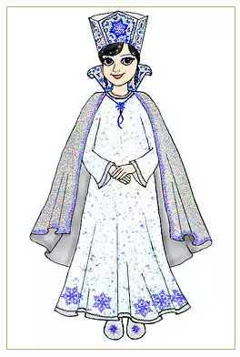 Как сделать новогодний костюм Снежной Королевы к Новому Году?