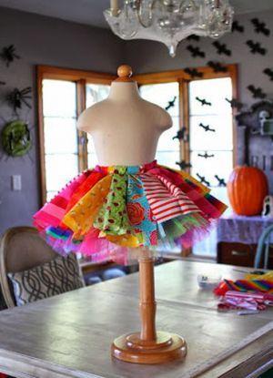 юбка для клоуна