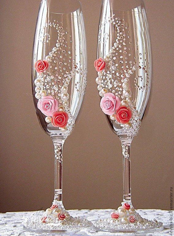 Свадьба бокалы фото