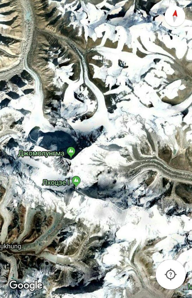 Ледники, вокруг Эвереста, Гималаи