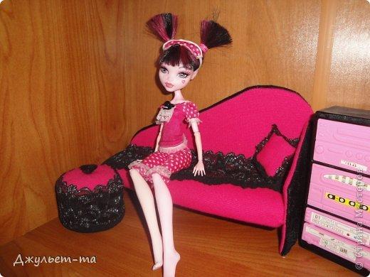 Как сделать мебель для кукол своими руками для монстр хай