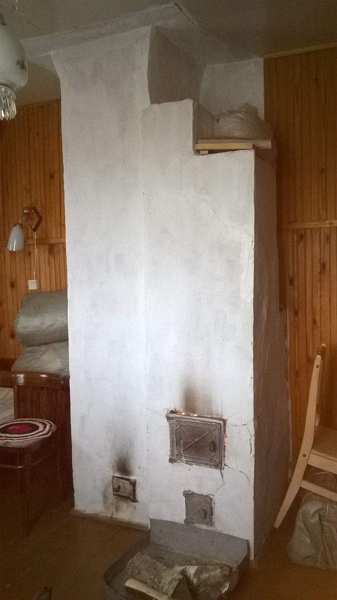 Печка кирпичная