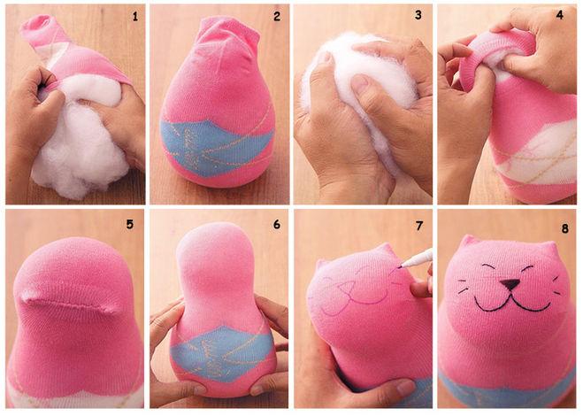 Какие игрушки можно сделать своими руками для ребенка