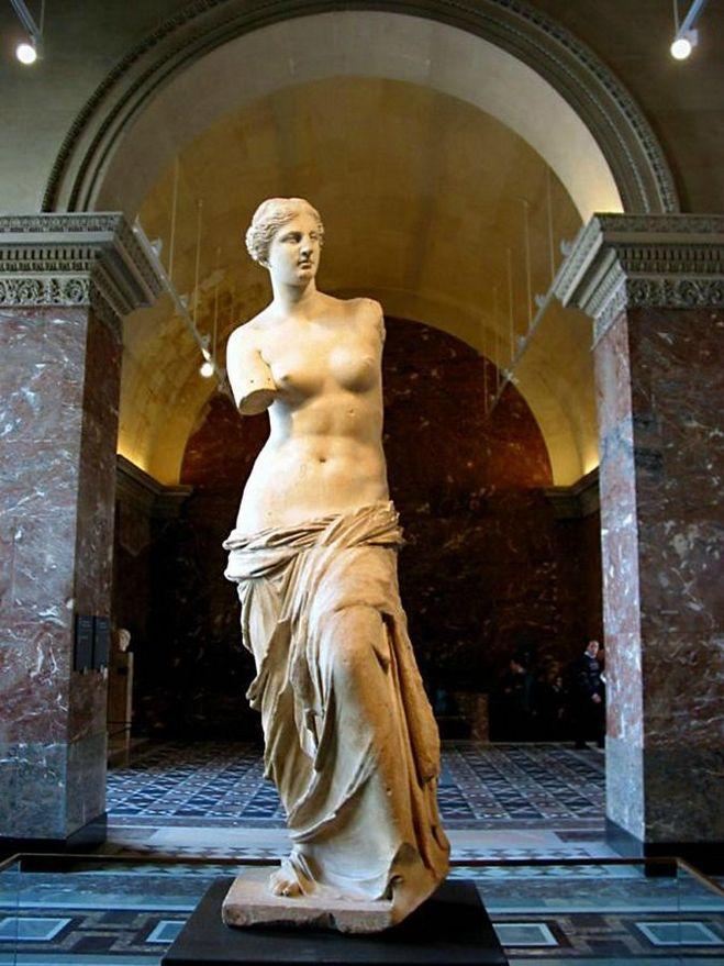 Венера милосская в древнегреческой мифологии