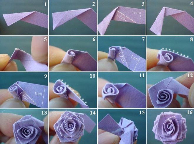 Как сделать розы схема