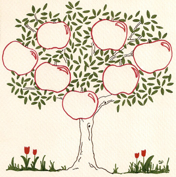 Как нарисовать семейное дерево своими руками фото 38