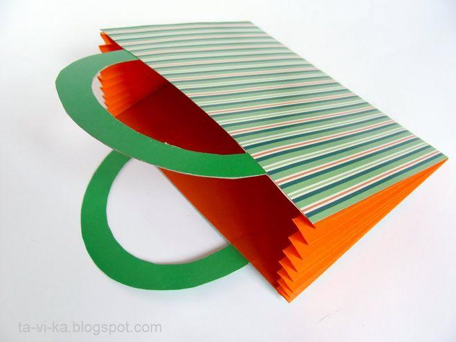 Как сделать сумку из бумаги и картона