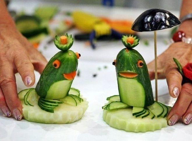 Сделать лягушонка