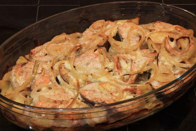 Нерка в духовке рецепт с фото пошагово