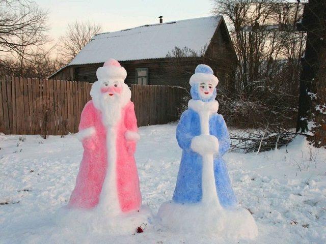 Фото на тему нового года дед мороз