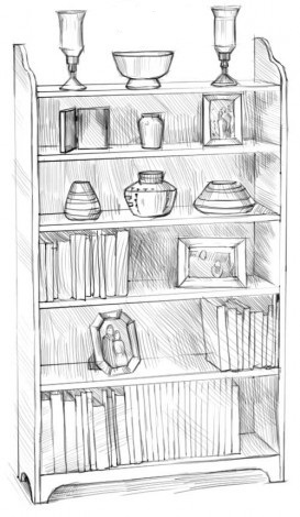 Рисуем шкаф 5
