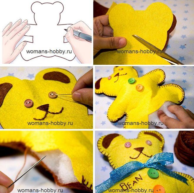 Как сшить игрушку поэтапно