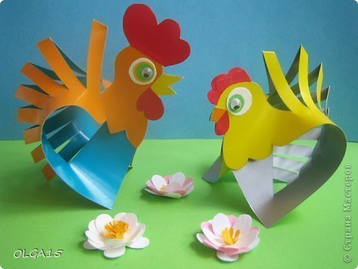 Как сделать курицу поделку своими руками