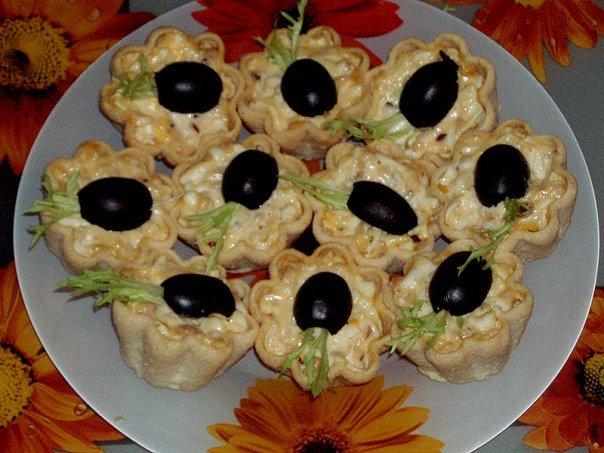 Печень трески для тарталеток рецепты