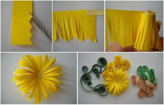 Мастер класс пошагово цветы из бумаги