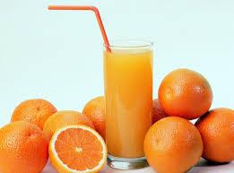 как выглядит апельсиновый сок под микроскопом