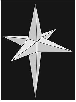 Вифлеемская звезда прозрачный фон