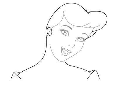 как нарисовать Золушку 4