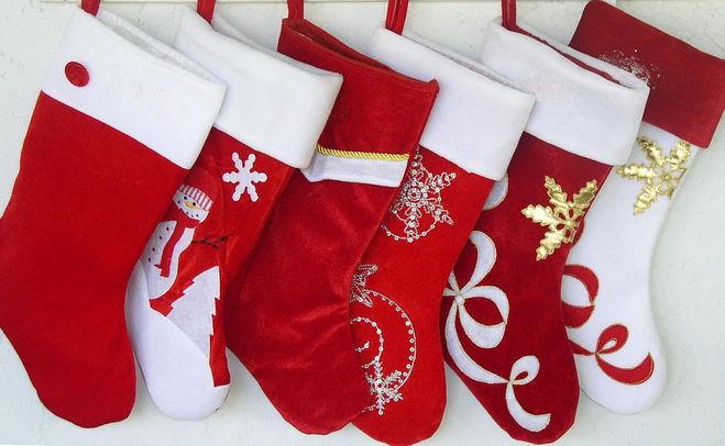 Как сделать рождественский чулок своими руками