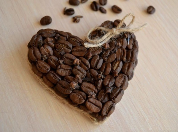 Кофейное сердце своим руками фото 837