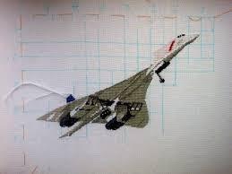вышивка крестиком самолета своими руками схемы