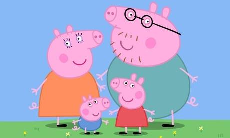 Как рисовать всю семью свинки пеппы