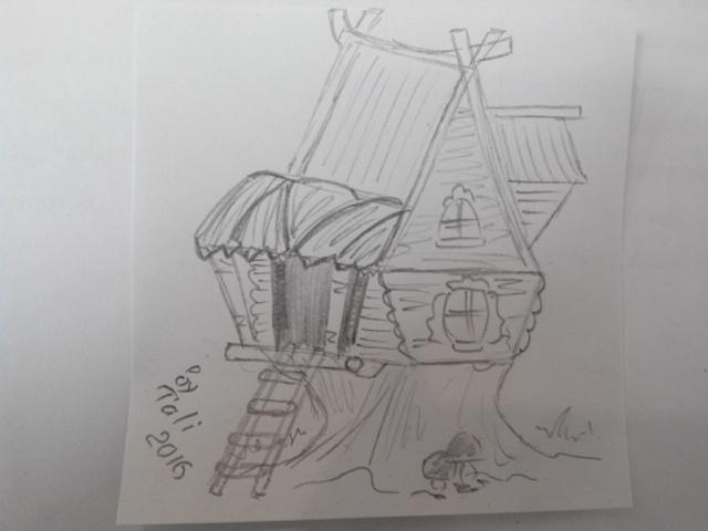 Как нарисовать теремок_04