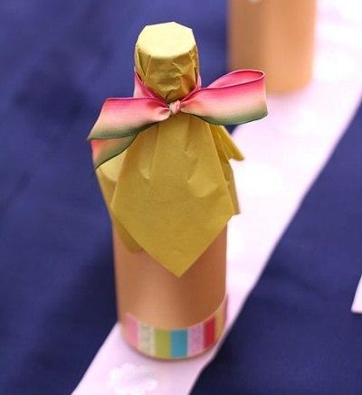 Как красиво упаковать шампунь своими руками