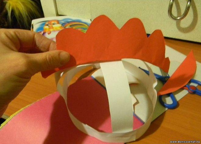 Сделать костюм петуха из бумаги своими руками фото 491