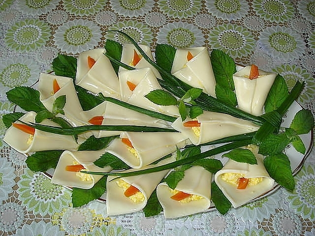 Рецепт закуски каллы