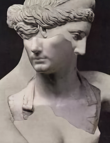 Фото статуя мужчина и женщина